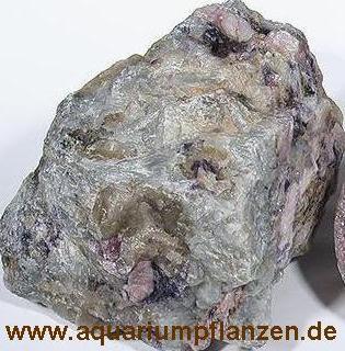 ca. 1 kg Lepidolit Brocken, Dekosteine, Aquarium