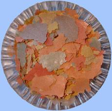 1000 ml Flockenfutter, Hauptfutter 4 farbig