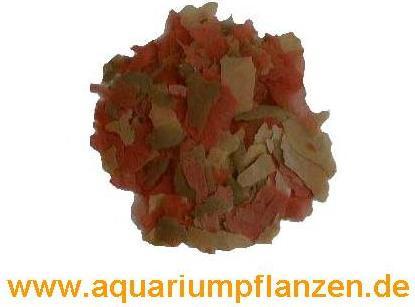 250 ml Flockenfutter Hauptfutter 3 farbig