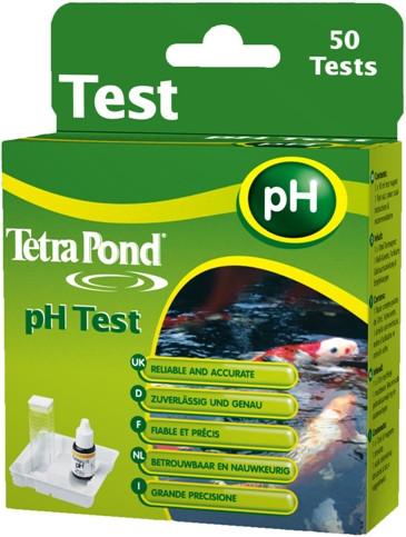 Tetra Pond pH -Test, Wassertest für Teichwasser