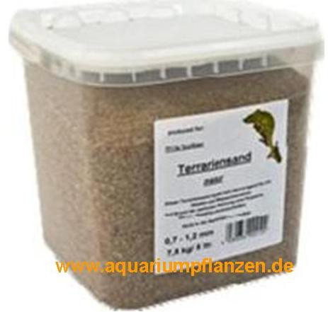 25 kg Terrariensand natur, 0,7-1,2 mm, Sand