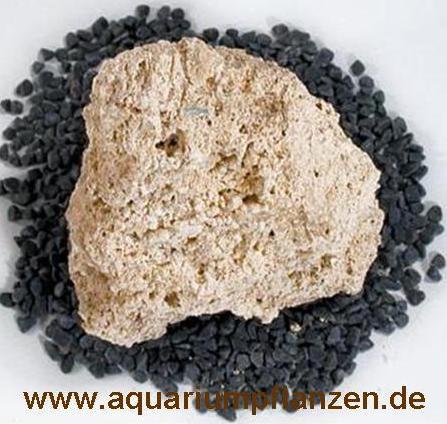 ca. 1 kg Tuffgestein ausgewaschen, Aquarium