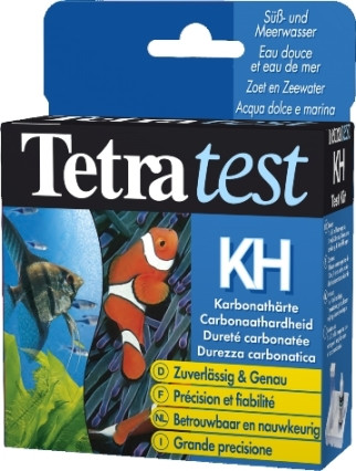 Tetra Test Karbonat (KH), Wassertest Karbonathärte