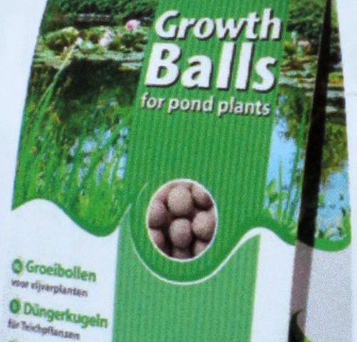10 Düngekugeln für Teichpflanzen