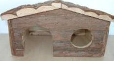 1 Waldhaus für Zwerghasen, Hütte, Hase, Haus